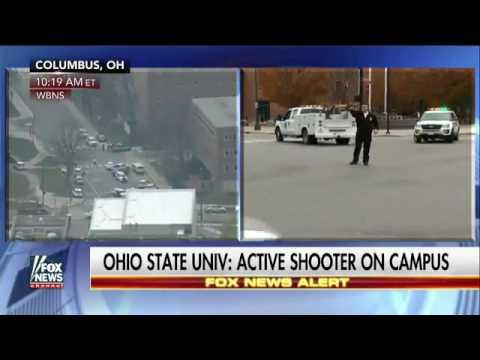 BREAKING ALERT Ohio State ACTIVE SHOOTER 9 SHOT a TWEET RUN HIDE FIGHT November 28 2016 News