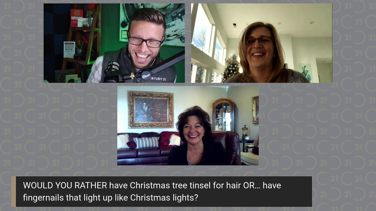 Would You Rather Questions with Real Estate Agents Christmas Edition