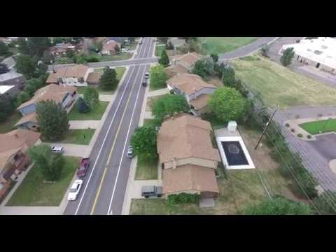 Drone test flight in Lakewood, Colorado