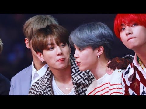when Jungkook and Jimin can鈥檛 stop flirting