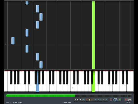 Final Fantasy VII - Interrupted By Fireworks Piano Tutorial