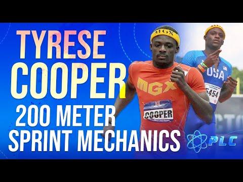 Tyrese Cooper 200 Meter Sprint Mechanics