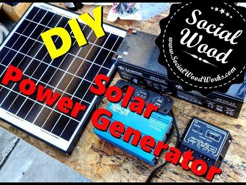 DIY Solar Power Generator – Part 1