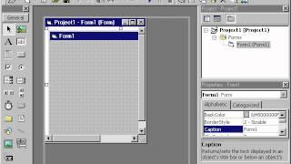 Microsoft Visual Basic 6 0 Урок 1, 2