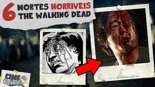 6 MORTES MAIS CHOCANTES DE THE WALKING DEAD