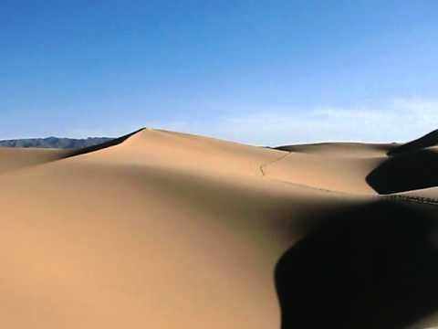 2 - MONGOLIA - Giant Sand Dune, Gobi Desert
