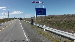Путешествие на мотоцикле. США - Канада. Лабрадор. Фильм 46.  Переправа на остров Ньюфаундленд
