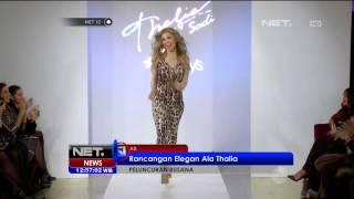 Koleksi Busana Terbaru Aktris Mexico, Thalia - NET12