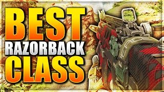 Black Ops 3 - BEST RAZORBACK CLASS SETUP!! - EASY RANK UP FAST CLASS SETUP! (COD BO3 TIPS & TRICKS!)