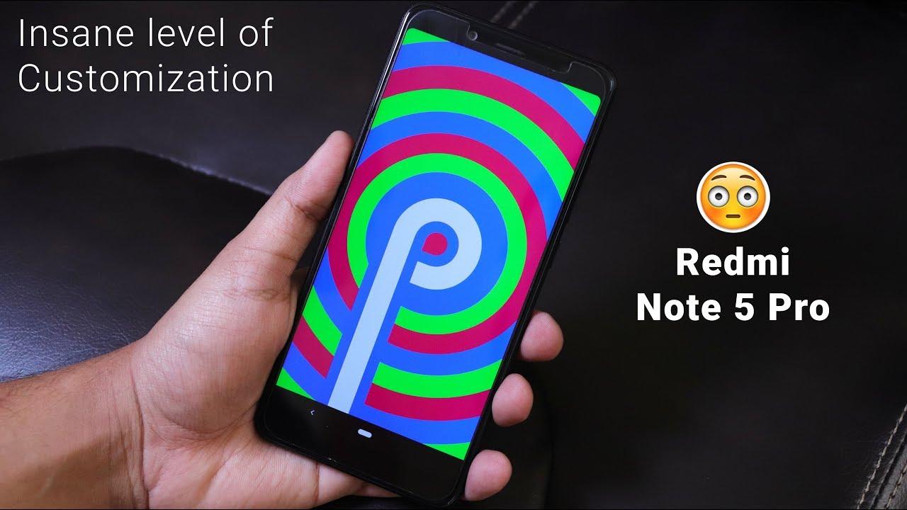 HavocOS 2 0 Pie On Redmi Note 5 Pro    Best CustomRom I've Ever Seen!  🙇🏻♂️