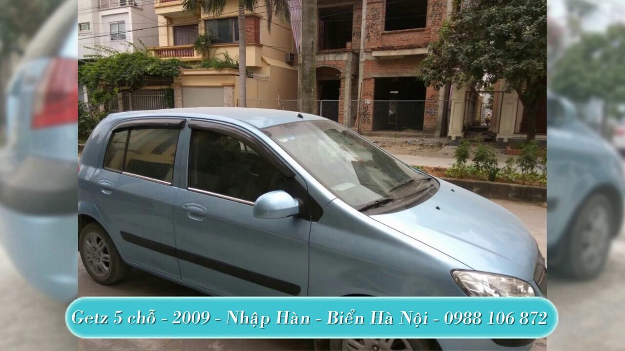 Cần bán xe Getz cũ, ai cần mua xe cũ liên hệ 0988106872 xe chính chủ, còn nguyên bản