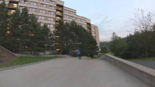 Trap Lord Nikifor - Ollie 27 stairs Liberec Harcov  - The Biggest ollie ever!!!