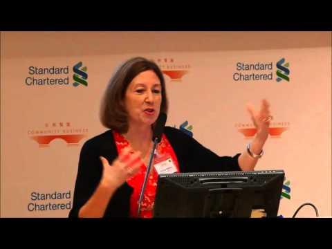 Dr Donna Hamlin at Executive Forum on Board Diversity