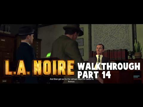 L.A. Noire - Walkthrough Mission #14 The Studio Secretary Murder