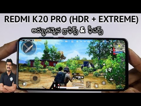 redmi-k20-pro-game-turbo-features-&-pubg-(hdr-extreme)-gameplay-ll-in-telugu-ll