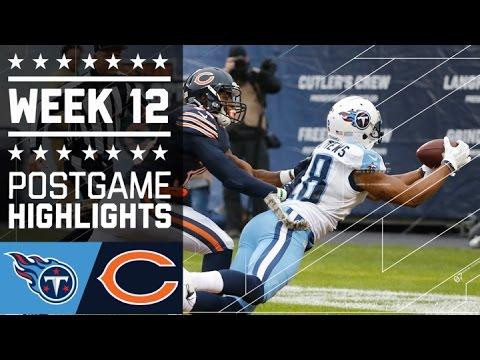 Titans vs. Bears | NFL Week 12 Game Highlights