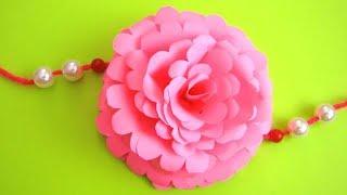 DIY: Easy Rakhi Designs!!! How to Make Easy Paper Rakhi at Home 68/Handmade Rakhi!!!