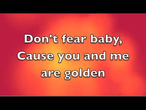 Travie McCoy ft Sia - Golden lyrics (clean)