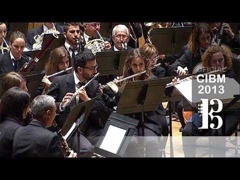 CIBM 2013 - Banda Simfónica De La Unió Musical D'Alaquàs - Save The Sea