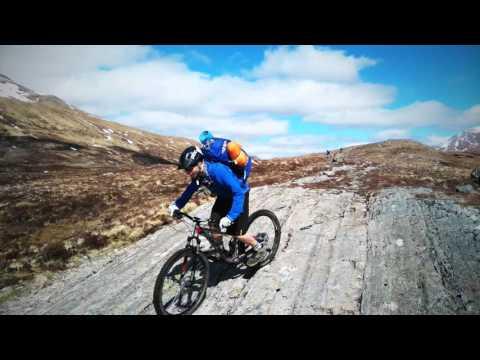 University of Derby advanced mountain bike course