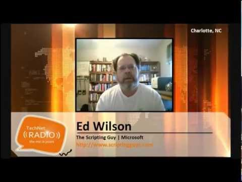TechNet Radio: IT Time--An Interview with the Scripting Guy, Ed Wilson