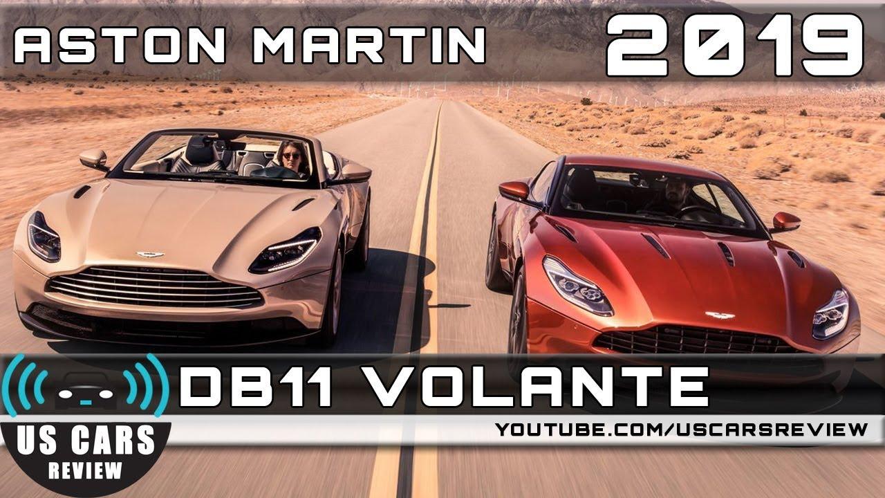 2019 Aston Martin Db11 Volante Review Youtube