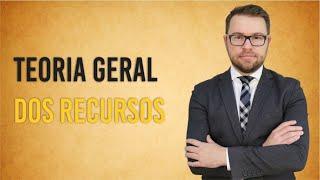 NOVO CPC - Teoria geral dos recursos