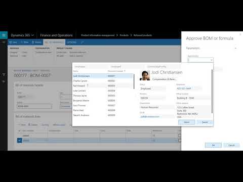 How to add a Bill of Materials to a Product in D365 for Finance and Operations