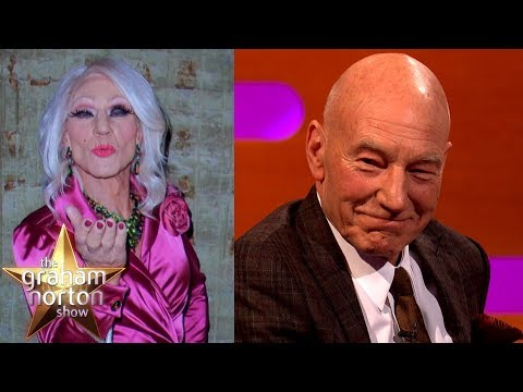 Sir Patrick Stewart's FABULOUS Drag Persona | The Graham Norton Show