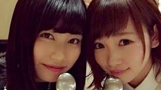 横山由依が川栄李奈のAKB48卒業を止めなかった理由が感動的すぎて川栄もすすり泣き。