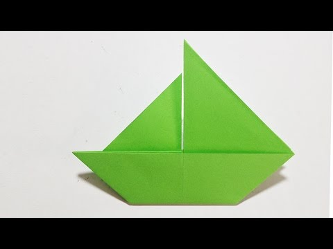 Easy Origami How To Make A Paper Boat Origami Youtube