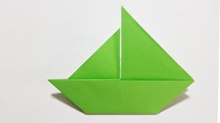 Easy Origami - How to Make a Paper Boat origami