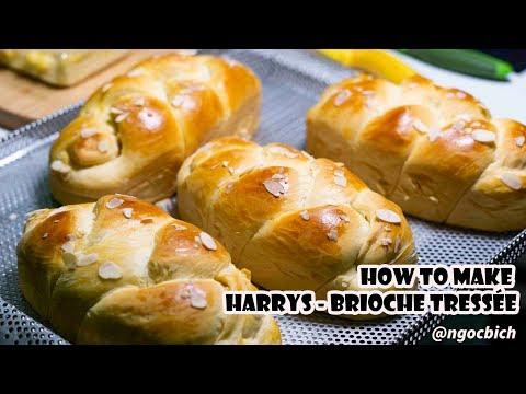 cách-làm-bánh-mì-hoa-cúc---how-to-make-harrys---brioche-tressÉe