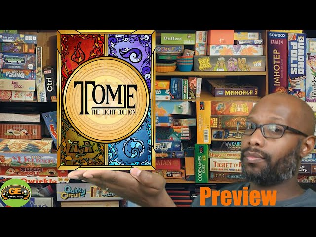 Tome The Light Edition Kickstarter Preview