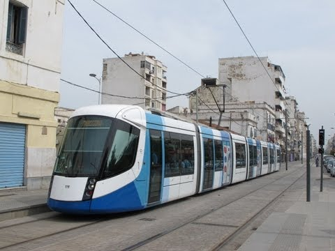 ALGIERS TRAMS SEPTEMBER 2013