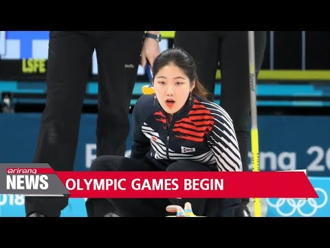 First event of PyeongChang 2018 starts with mixed doubles curling