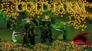 AQ3D (OPEN-BETA) - Gold Farm (PT-BR)