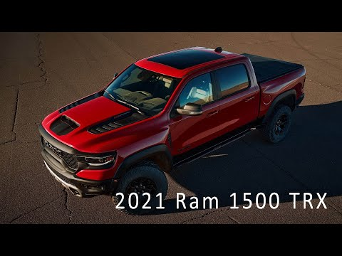 New 2021 Ram 1500 TRX – Most Powerful Truck