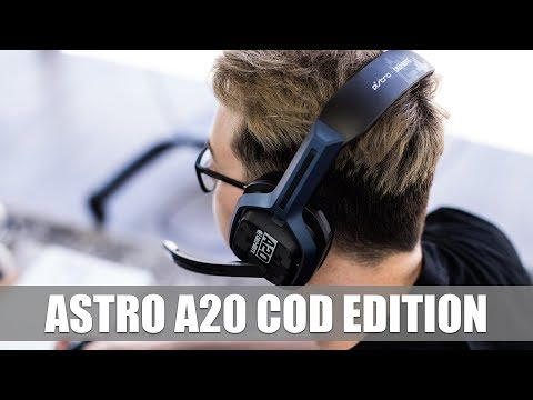 cf5ad0a4ec7cd5 Astro A20 Call of Duty Edition First Look #gamescom2017 - YouTube