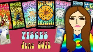PISCES JUNE 2018 Miracles Can Happen! Tarot psychic reading forecast predictions