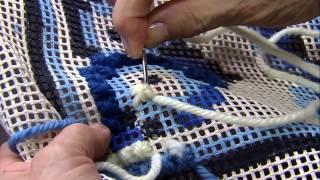 Noeli Baldissera – Ponto cruz de malta tapeçaria Parte 2/2