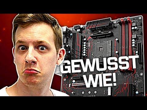 CPU in MAINBOARD einbauen + Wasserkühlung-Anleitung | PC selber bauen #2