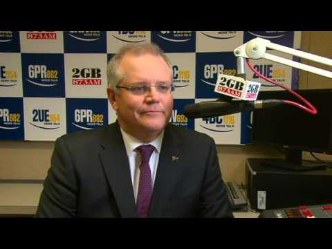 """Bludgers & leaners!"": Ray Hadley yells at Scott Morrison about parliamentary sitting days"