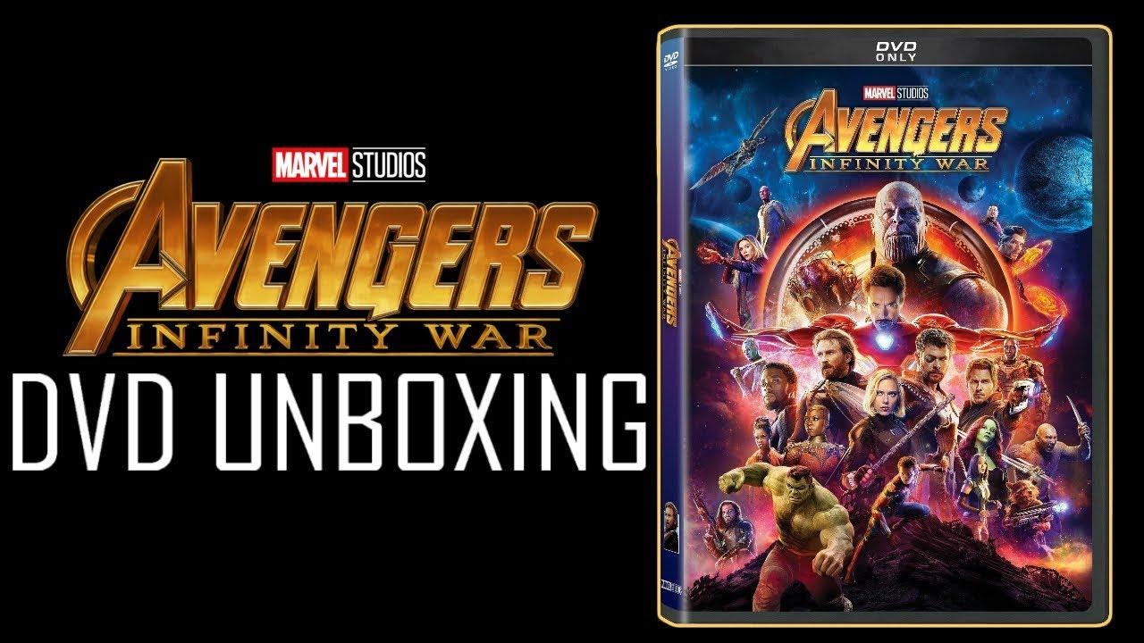 avengers infinity war dvd release