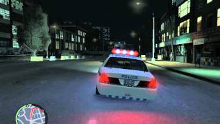 GTA IV POLICE PURSUIT MOD GAMEPLAY