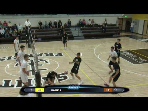 Archbishop Mitty Monarchs vs St. Francis Lancers - Volleyball, April 25, 2017
