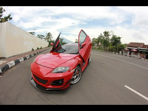 Mazda RX 8 with Den Kevin Customized