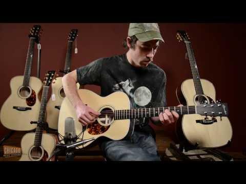 Boucher Guitars at Chicago Music Exchange // Playing Demo