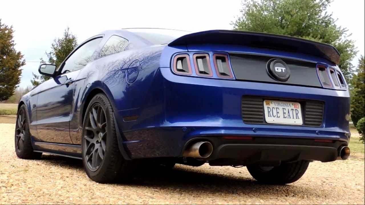 2013 Ford Mustang GT Bama Cam Idle Ghost Cam Tune JBA Offroad X Pipe & Pype  Bomb Axle Back Exhaust!