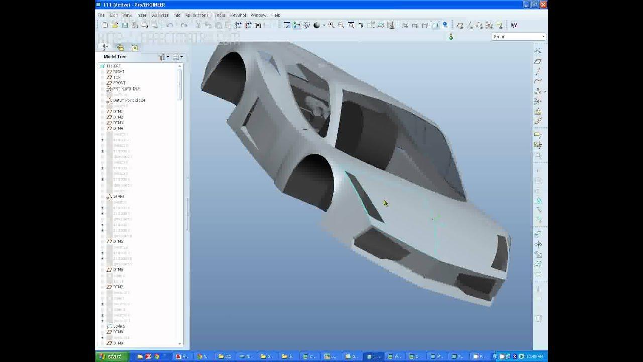 Pro engineer car model gallardo i hope youtube pro engineer car model gallardo i hope malvernweather Images